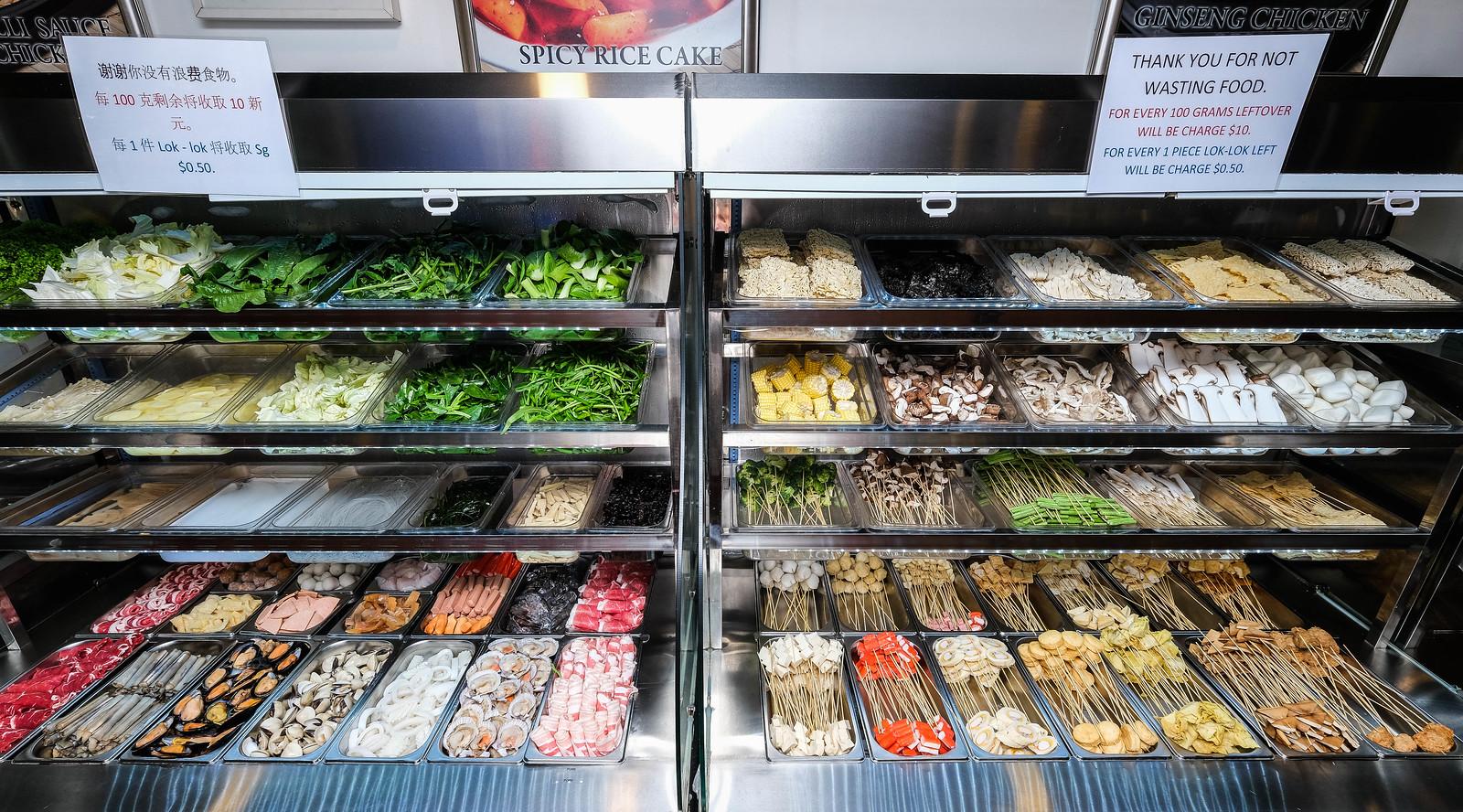 毅紫微蔬菜柜台