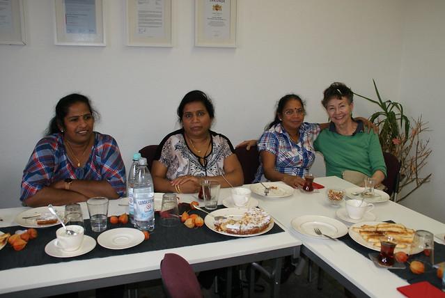 Tea Time mit dem Tamilischen Frauenverein
