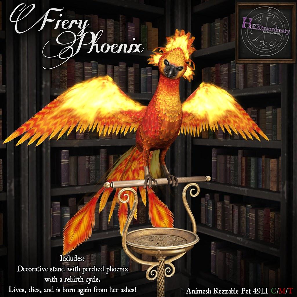 HEXtraordinary – Fiery Phoenix – Wizarding Faire