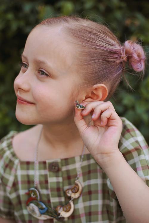Erstwilder Mallard Ballard Earrings