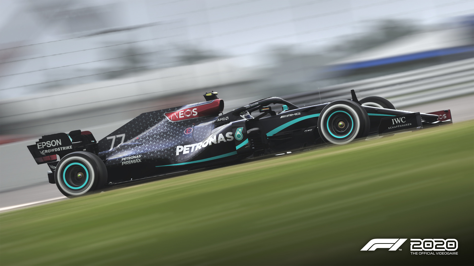 F1 2020 Game F1 2020 - Update Patch 1.06 Deployed - Black Mercedes AMG 3