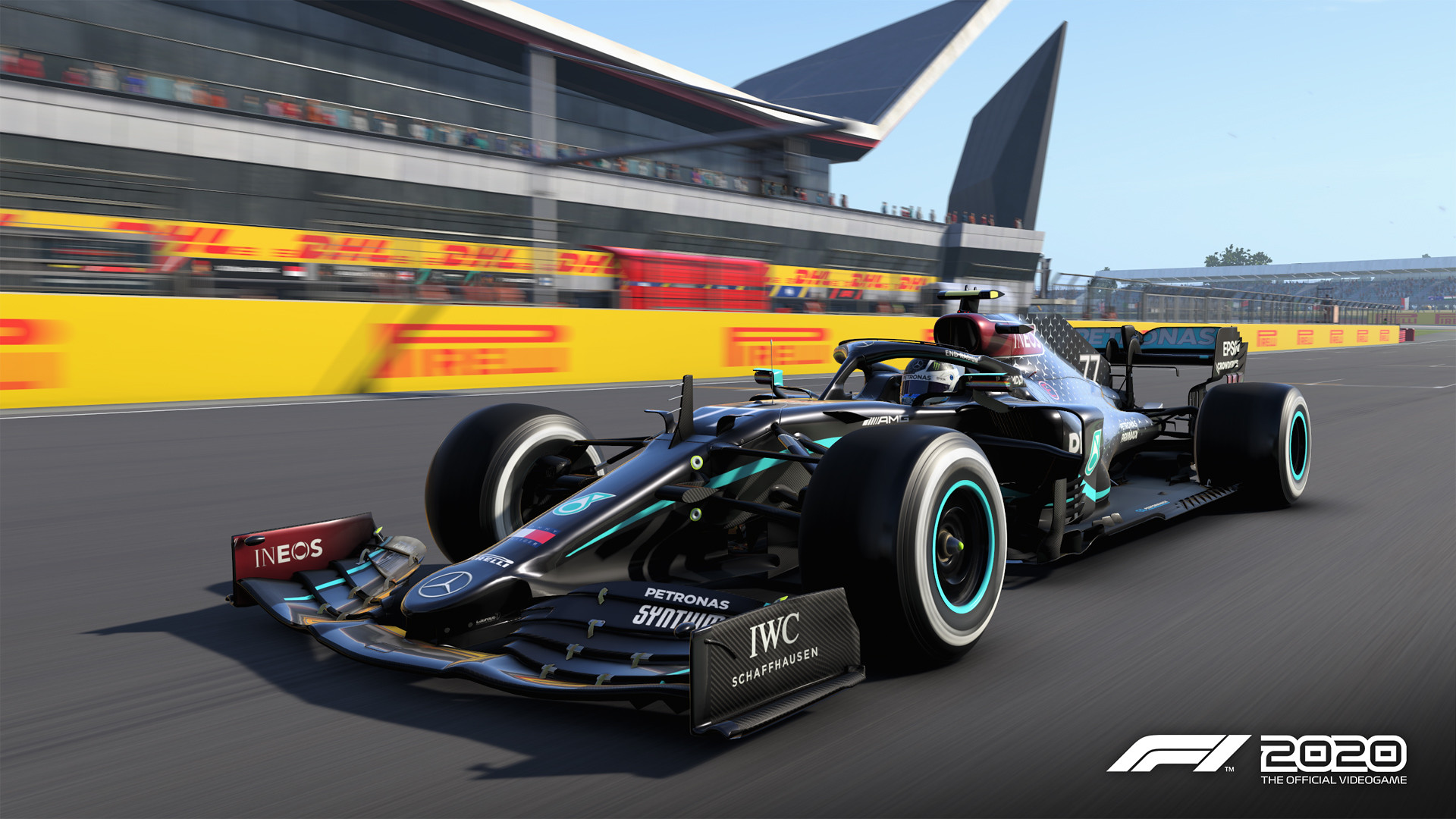 F1 2020 Game F1 2020 - Update Patch 1.06 Deployed - Black Mercedes AMG 4