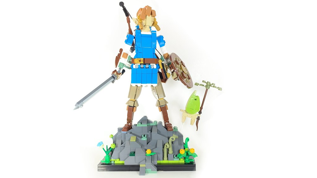 LEGO Breath of the Wild Link on LEGO IDEAS