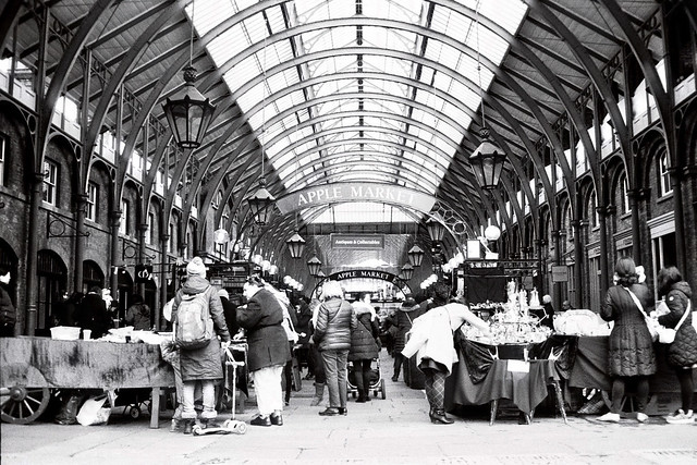 Covent Garden Apple Market - 35mm