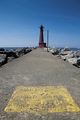 Lighthouse at Pere Marquette, Michigan