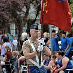 Marine Flag Bearer
