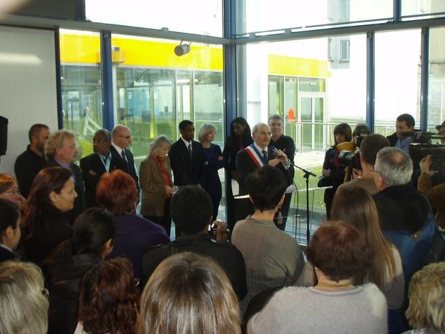 Inauguration piscine 10/12/2011