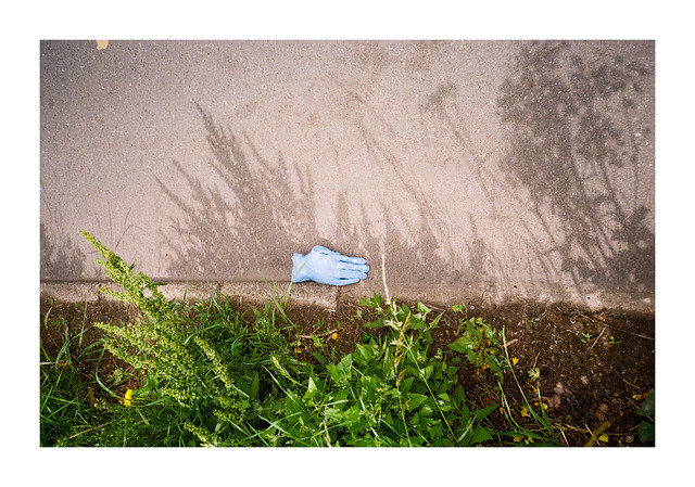 Pandemic Scenes - a new type of litter