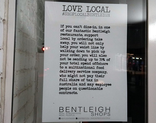 """Bentleigh """"Love local"""" campaign"""