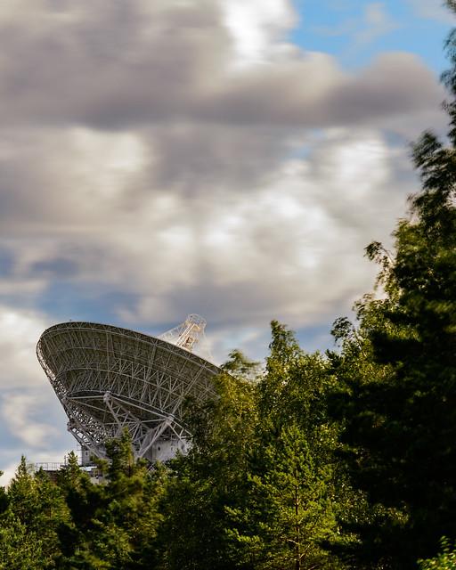 RT-32 Radiotelescope at Ventspils International Radio Astronomy Centre. Irbene, Latvia