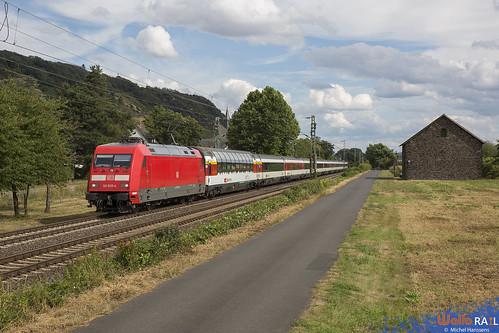 101 035 . DB AG . EC 8 . Leutesdorf . 26.07.20.