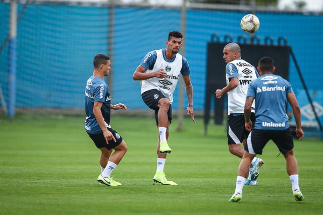 Treino Grêmio 26/07/2020