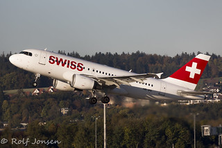 HB-IPX Airbus A319 Swiss Airlines Zurich Airport LSZH 15.10-17