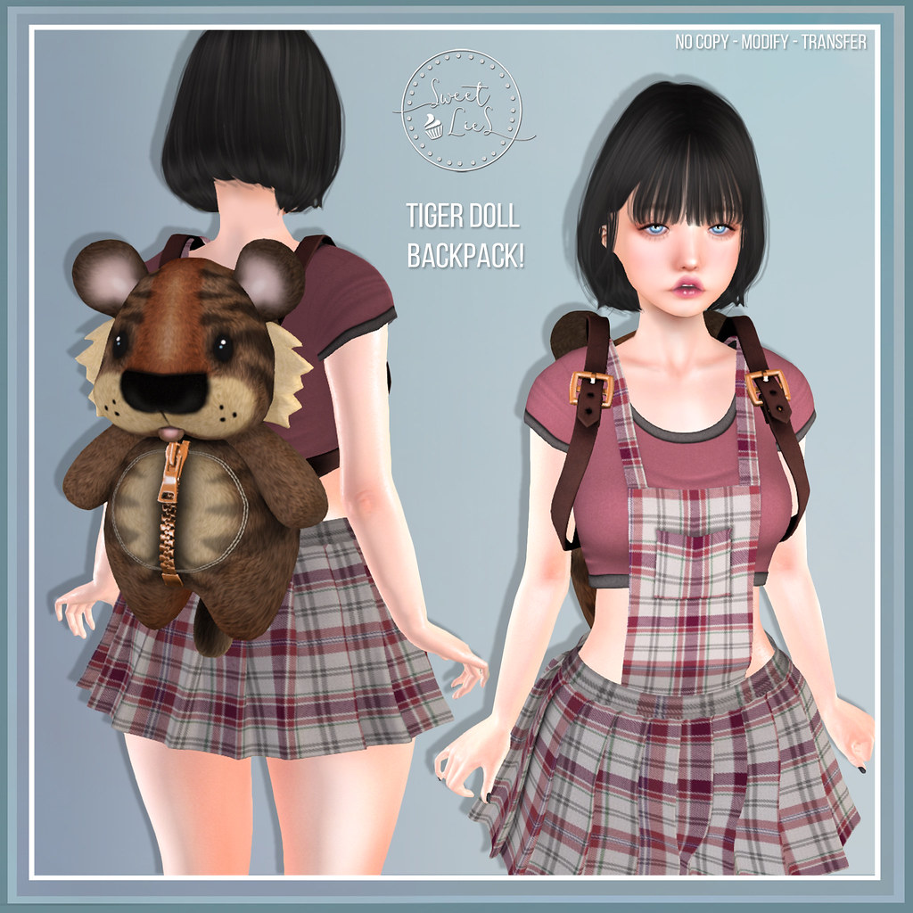 Tiger Doll BackPack – Sweet Lies Original