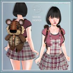 Tiger Doll BackPack - Sweet Lies Original