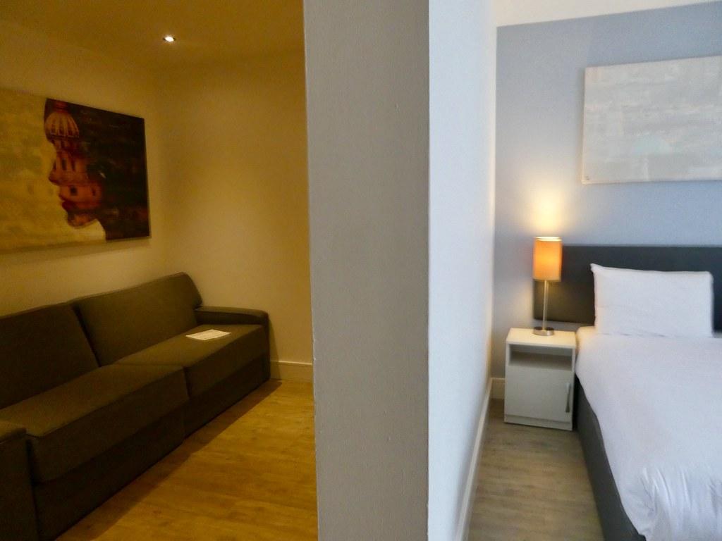 StayCity Aparthotel Greenwich one bedroom apartment