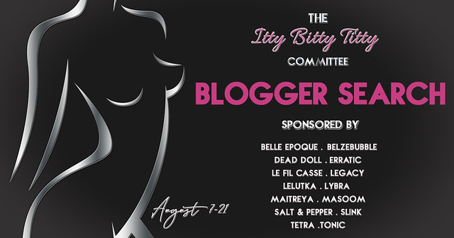 Itty Bitty Titty Committee Blogger Search!