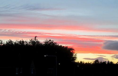 Fife sky,sunset, Scotland