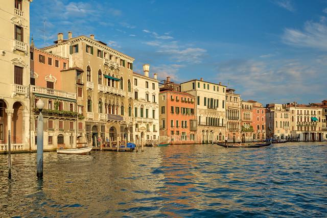 Palazzos along Grand Canal, Venice