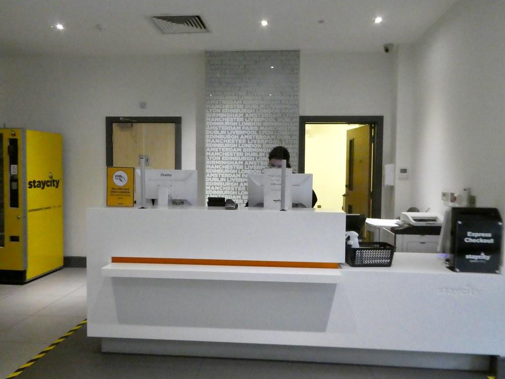 Reception lobby, StayCity Aparthotel Greenwich