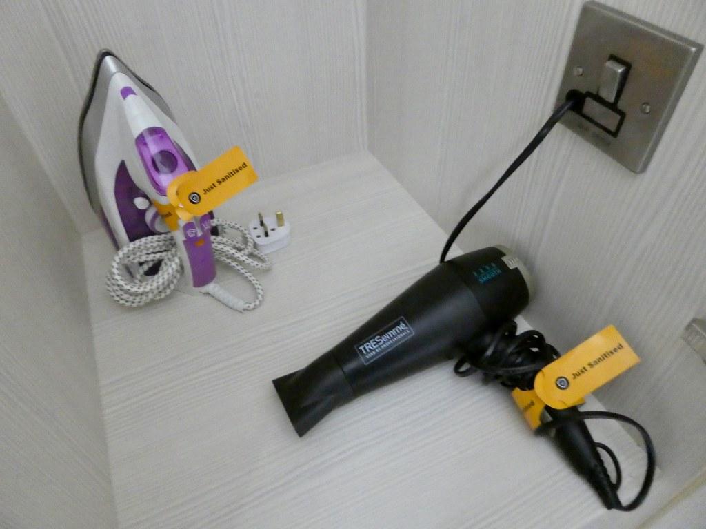 Hairdryer and iron, StayCity Aparthotel Greenwich