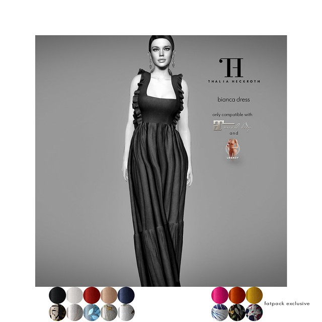 Thalia Heckroth - Bianca dress (MAITREYA LARA AND MESHBODY LEGACY)