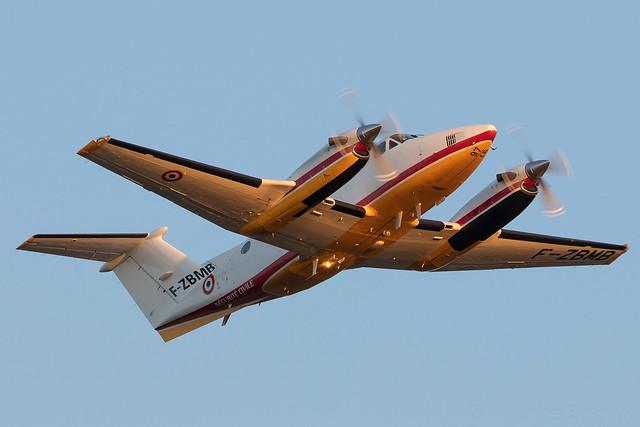 Beechcraft B200 Super King Air Securité Civile F-ZBMB cn BB-1379