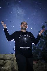Michael under the stars