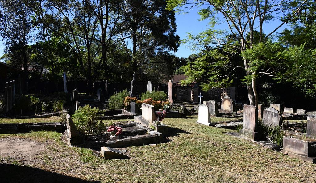 Uniting Church, Cemetery, Cherrybrook, Sydney, NSW.