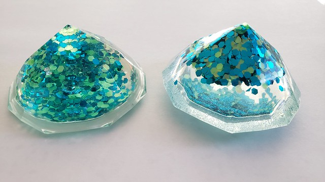 resin diamonds by replicate then deviate