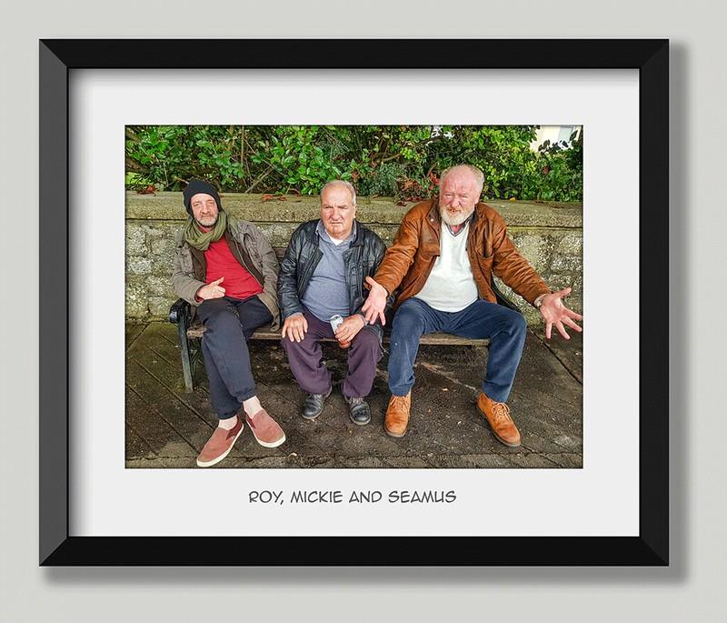 Roy, Mickie, Seamus