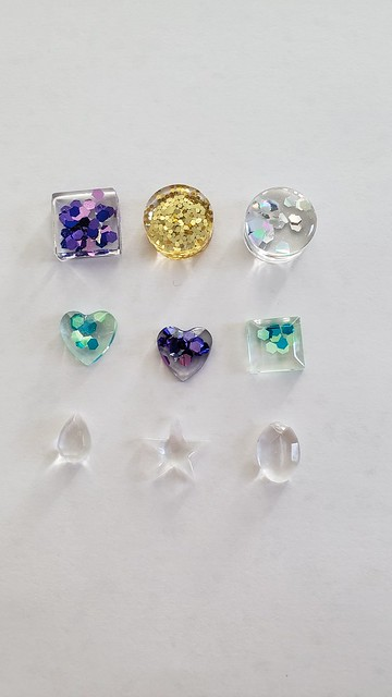 resin charms by replicate then deviate