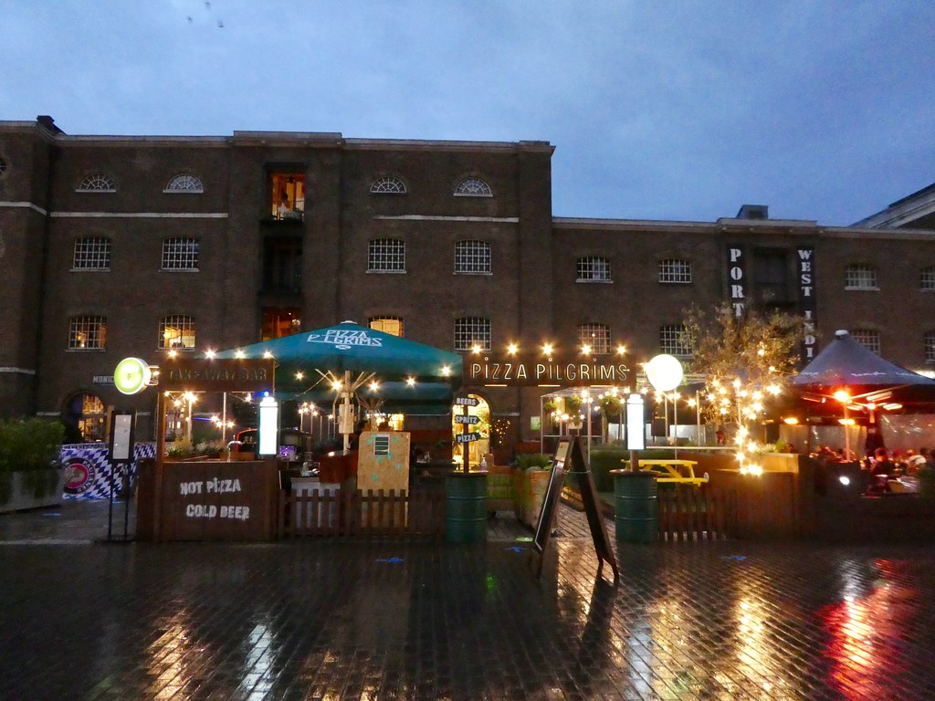Bars, West India Quay, Canary Wharf