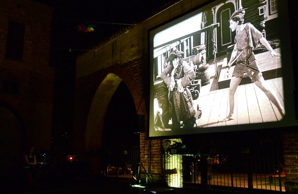 RESTATE IN CITTA' - SERATA CINEMA - PETER PAN 1924 di HERBERT BRENON  - 26 LUGLIO 2020 Foto A. Artusa