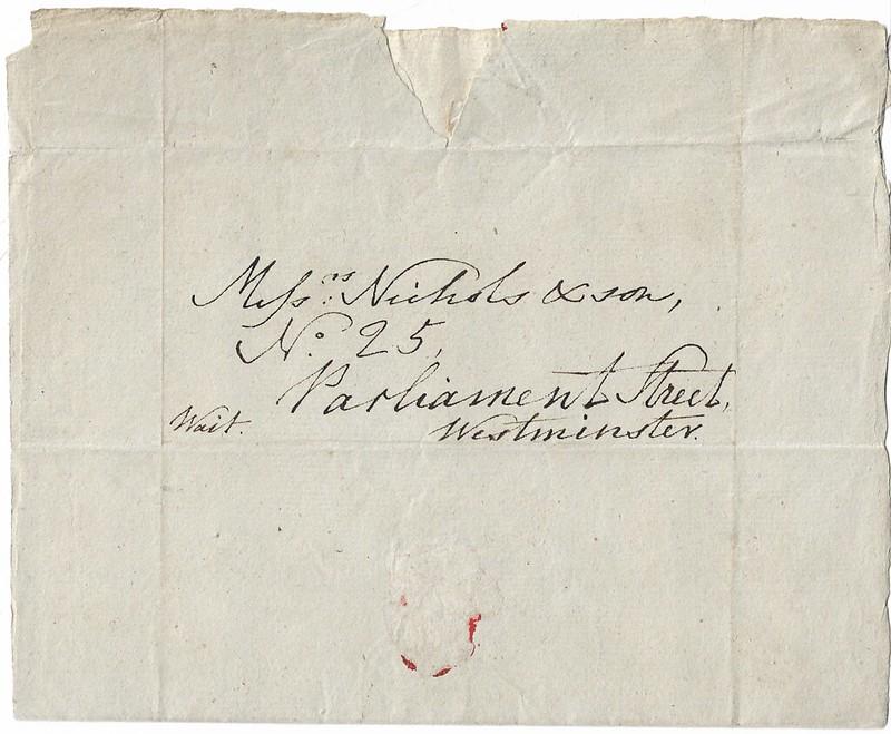 Weeden letter front