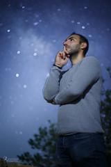 Dan under the stars
