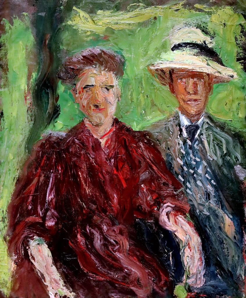 IMG_5474 Richard Gerstl 1883-1908  Wien Couple in the countryside  1908  Wien Musée Léopold
