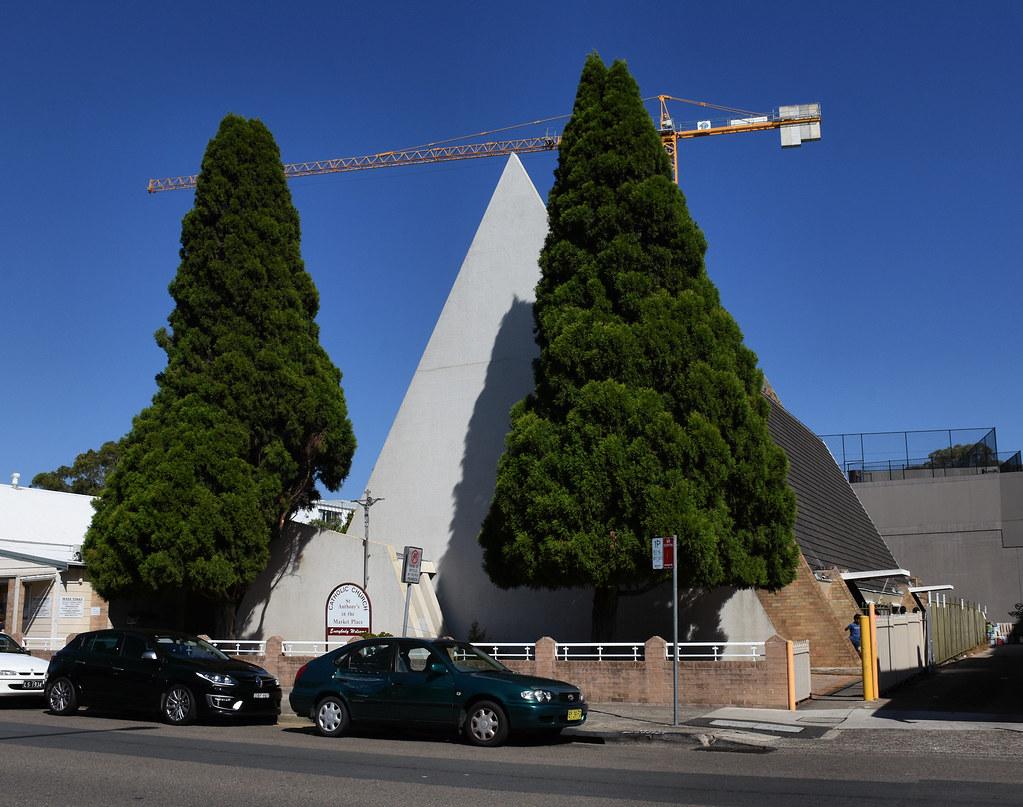St Anthony's in the Market Place Catholic Church, Toongabbie, Sydney, NSW.