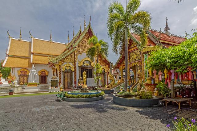 Wat Phra Pan (Wat Phranon Mee Pukha) – San Kamphaeng - OnaKuneVie