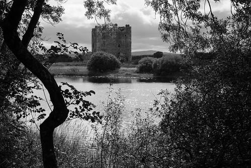 threavecastle castledouglas blackandwhite monochrome nationaltrust scotland nature riverdee dumfriesandgalloway
