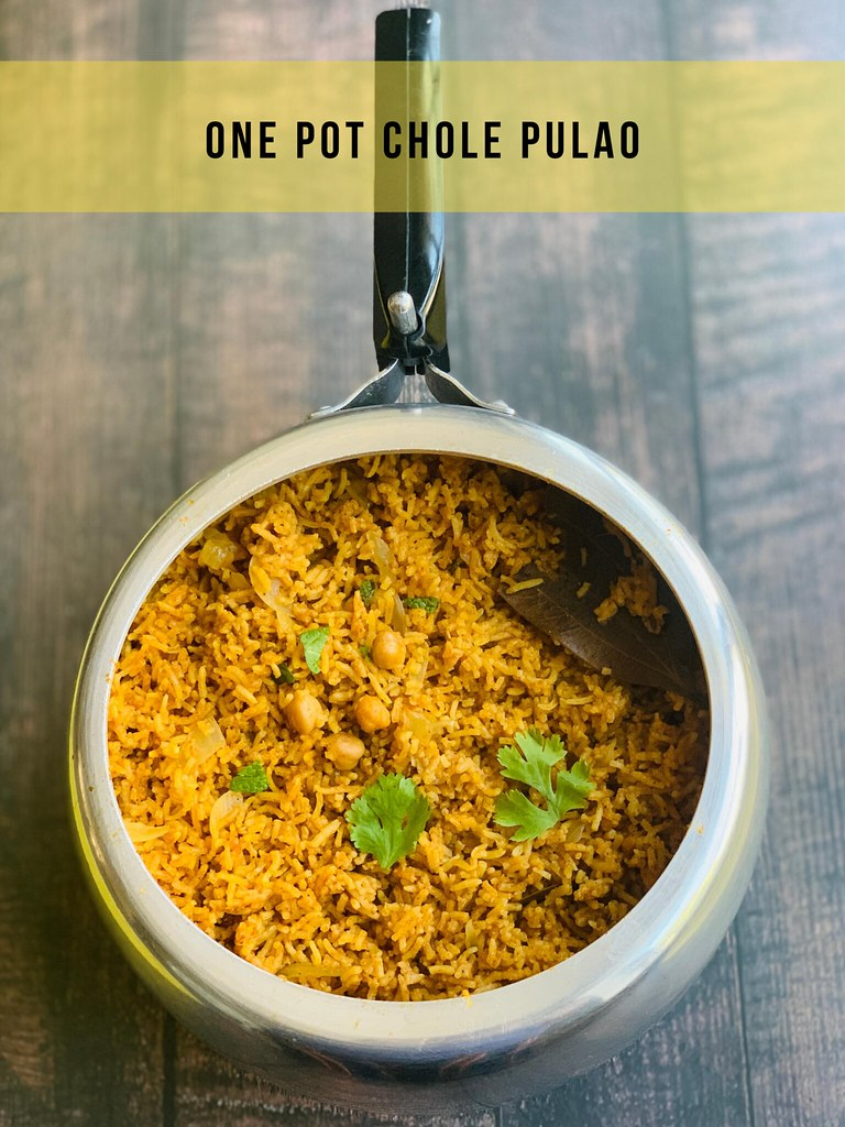 One Pot Chole Pulao
