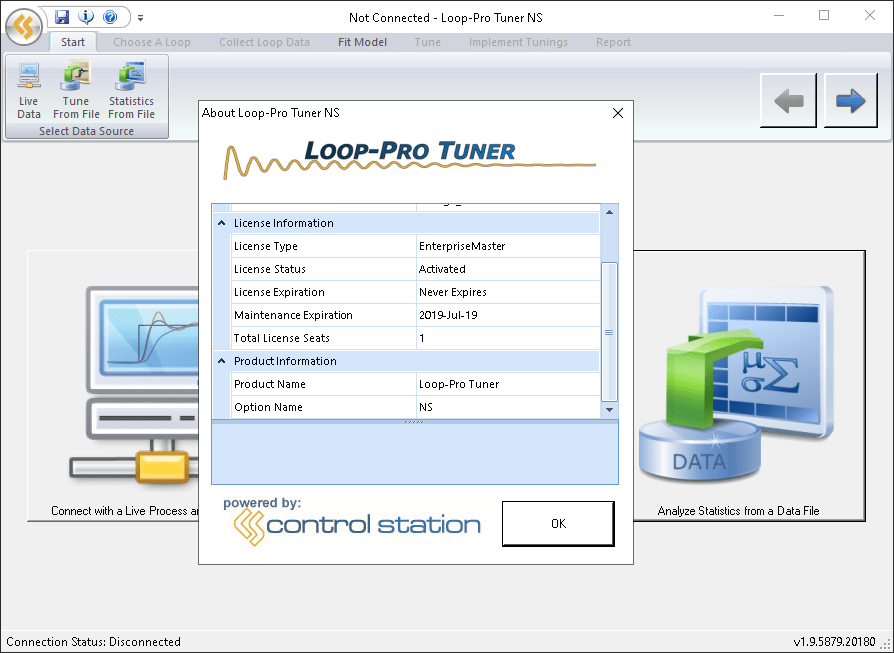 Working with Control Station Loop-Pro Tuner 1.9.5879.20182 full license