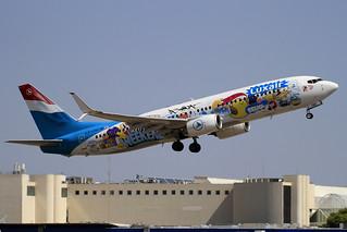 LX-LGU. B-737/800. Luxair. PMI.