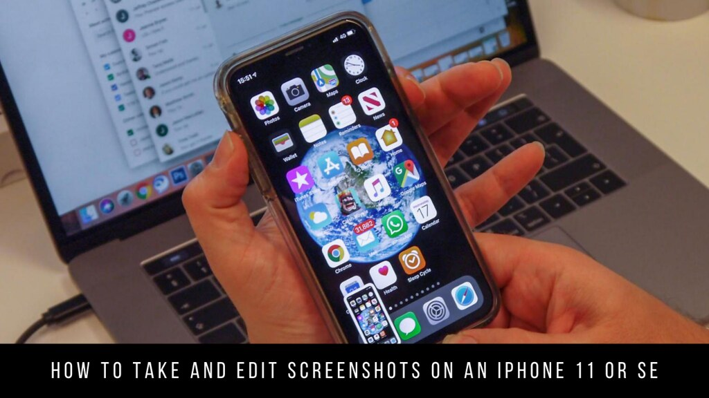 How to take and edit screenshots on an iPhone 11 or SE