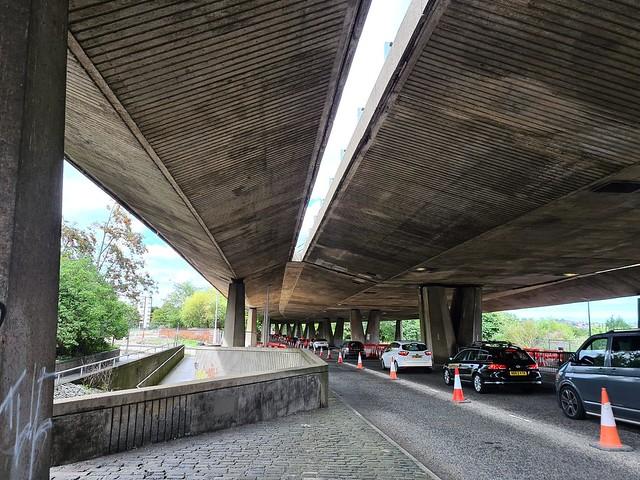 Gateshead underpass congestion Jul 20