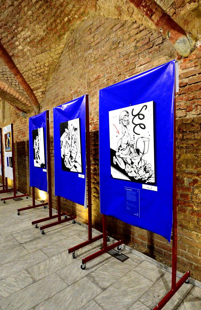 RESTARE IN CITTA' - CONSULTA GIOVANI - MOSTRA ABBIATEARTE CREATIVITA' IN MOSTRA  DAL 17 AL 26 LUGLIO 2020 Foto A. Artusa