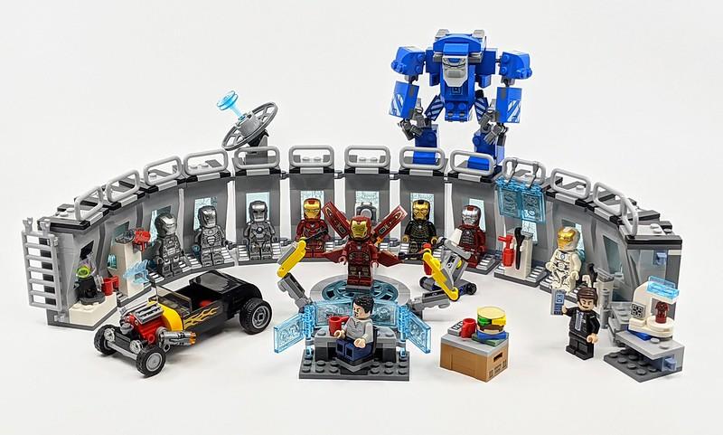 LEGO Marvel Iron Man Workshop