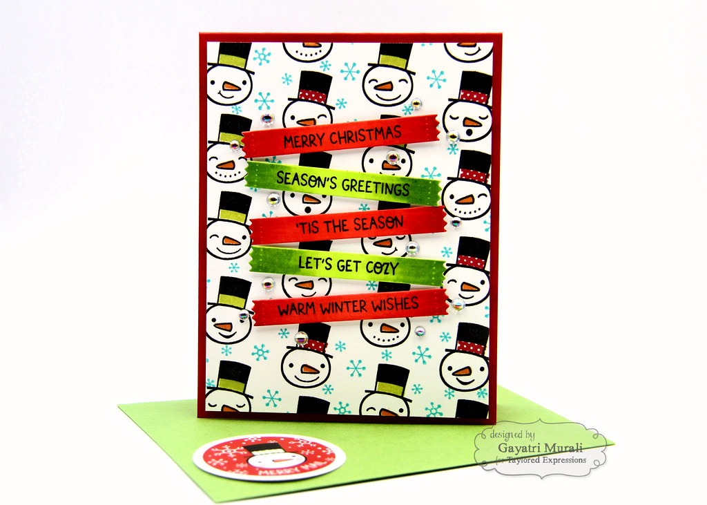 Baby It's Cold OUtside kit card #1