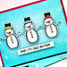 Baby It's Cold OUtside kit card #2 closeup