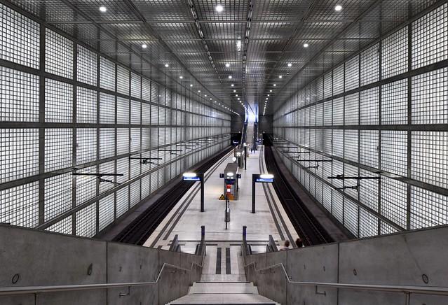 Leipzig; S-Bahn-Station Wilhelm-Leuschner-Platz